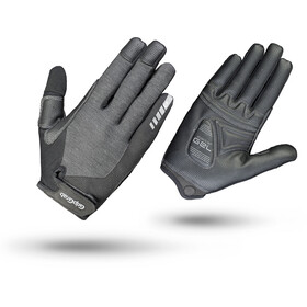 GripGrab ProGel Full Finger Long Cycling Gloves Women Grey